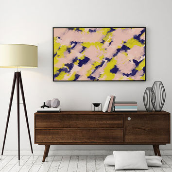 Paint Art Print, Wall Art, Abstract Poster, Pastel Print, Minimalist Poster, Abstract Art Print, Abstract Wall Art, Modern Home Decor.