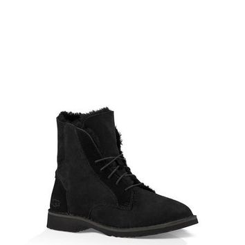 Best Online Sale Ugg 1012359 Black Classic Street Quincy Boots Snow Boots