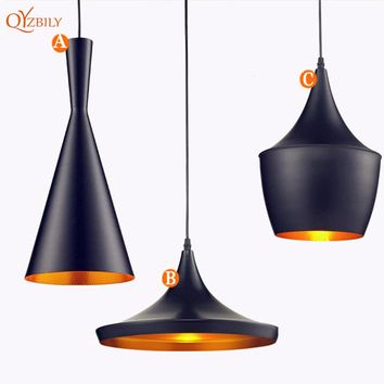 Modern LED Pendant Lights Vintage Pendant Lamp Hanglamp Restaurant Kitchen Light Dinging Room Luminaire Lustre 3PCS/set Lamparas
