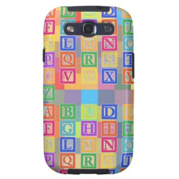 Block Letters Case-Mate Samsung Galaxy S3