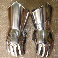 Medieval Gauntlets Functional Armor Gloves, Ancient Knight Armour Gauntlet Pair