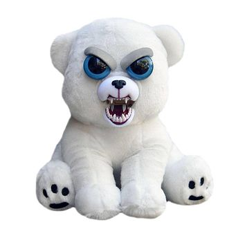 Expression Stuffed Animal Doll Feisty Pets Unicorn Change Face Plush Toys Animal Doll Funny Toys For Children Birthday Gifts