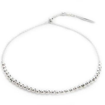 Gorjana Newport Silver-Plated Adjustable Bracelet