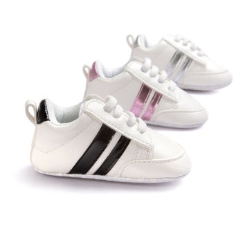 ROMIRUS Soft Bottom Fashion Sneakers Baby Boys Girls First Walkers Baby Indoor Non-slop Toddler Shoes 8 New Colors