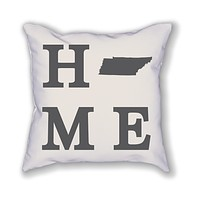 Tennessee Home State Pillow
