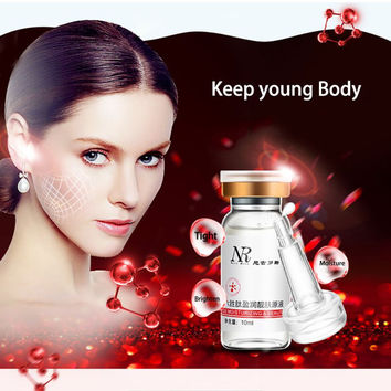 Rejuvenating Face Lift Skin Care Anti Aging Collagen Six Peptides Serum Rgireline Liquid Moisturizing Striae Anti-Wrinkle Cream SM6