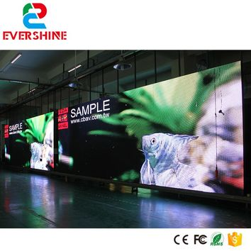 Free shipping diy customized P5 SMD2525 RGB 1/8scan full color outdoor advertising led display screen
