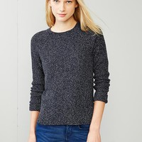Moss Stitch Raglan Sweater