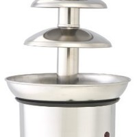 ClearMax CF-892 Electric 3-Tier Stainless Steel Chocolate Fountain, Silver