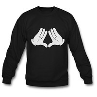 Mickey Mouse Diamond Hands crewneck sweatshirt
