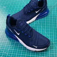 Nike Air Max 270 Navy 2.0 Men Sport Running Shoes - Best Online Sale