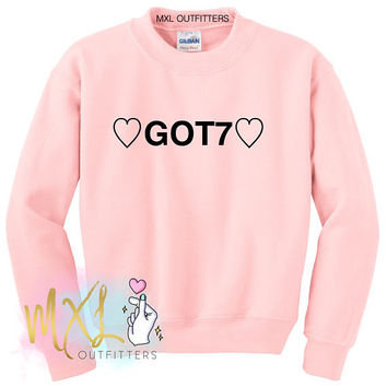 Heart Got7 Crewneck Sweatshirt