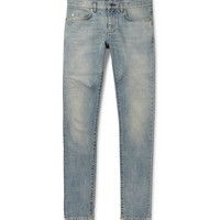 Saint Laurent - Slim-Fit 15.5cm Hem Denim Jeans | MR PORTER