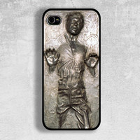 Star Wars Han Solo iPhone Case - Cover - iPhone 4,4s Case - iPhone 5 Case , Samsung Galaxy S3 Case , Samsung Galaxy S4 Case