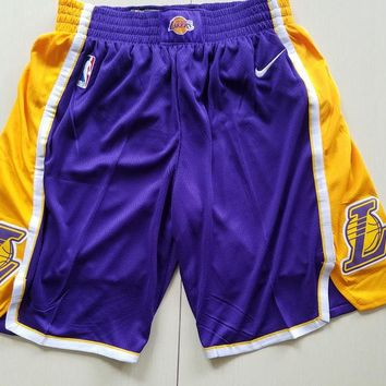 LA Lakers Basketball Sport Short