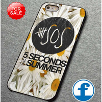 5SOS Sun Flowers     for iphone, ipod, samsung galaxy, HTC and Nexus PHONE CASE