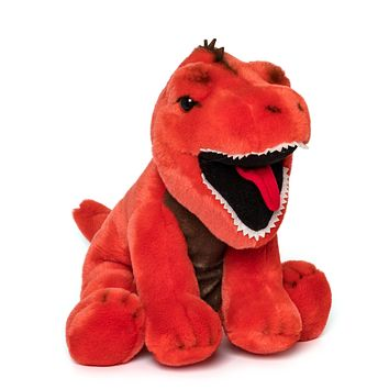 "12"" Stuffed T-Rex Plush Floppy Animal Kingdom Collection"