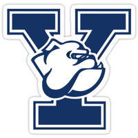'Yale Bulldogs Yale University ' Sticker by doduegeek