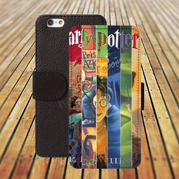 iphone 5 5s case college Harry Potter iphone 4/4s iPhone 6 6 Plus iphone 5C Wallet Case,iPhone 5 Case,Cover,Cases colorful pattern L323