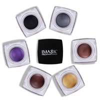 IMAGIC Brand Eyeshadow 12 Colors Shimmer Single Eyeshadow Cream Makeup Eye Shadow Palette Fashion Eyeshadow Pigment