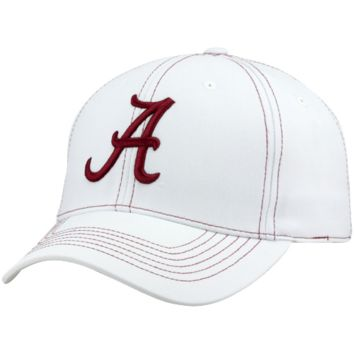 Top of the World Alabama Crimson Tide Endurance Tactile One-Fit Hat - White