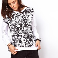 A Question Of Leopards Sweatshirt