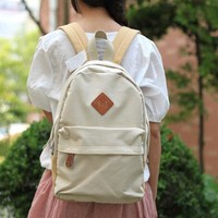 Cute Fashion Strip Print Lace Backpack