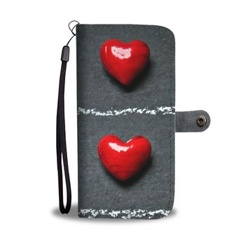 2 Hearts Wallet Phone Case
