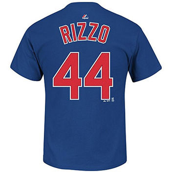 Anthony Rizzo Chicago Cubs Royal Youth Player T-Shirt by Majestic Select Youth Size: Large - 14/16