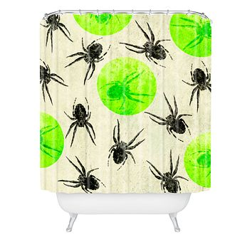 Elisabeth Fredriksson Spiders II Shower Curtain