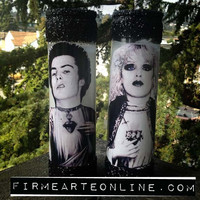 Sacred Heart Of Sid & Nancy Prayer Candle Candle Set