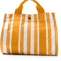 Hermès Vintage Striped Tote