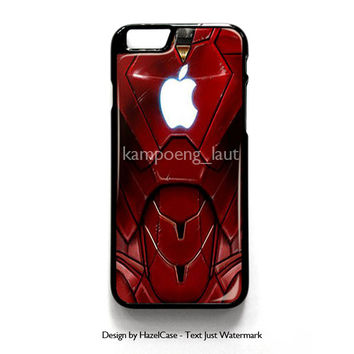 Marvel Iron Man Suits With Apple Logo for iPhone 4 4S 5 5S 5C 6 6 Plus , iPod Touch 4 5  , Samsung Galaxy S3 S4 S5 Note 3 Note 4 , and HTC One X M7 M8 Case Cover