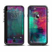 The Abstract Oil Painting V3 Skin Set for the Apple iPhone 6 LifeProof Fre Case