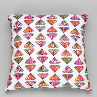 Bianca Green For DENY These Diamonds Are Forever Pillow - Urban Outfitters