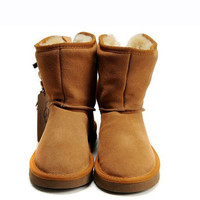 New UGG Bailey Button Boots 5808 Chestnut Sale [UGG Outlet-60] - £59.2Ugg boots outlet,Cheap uggs on sale