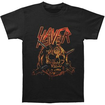 Slayer Men's  Skull Pumpkin T-shirt Black