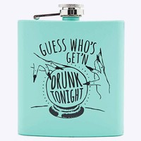 Guess Who's Getting Drunk Hip Flask - Urban Outfitters