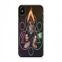 coheed and cambria art iPhone X Case
