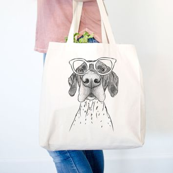 Booze the German Shorthaired Pointer - Tote