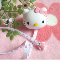Hello Kitty Measuring Tape Keychain