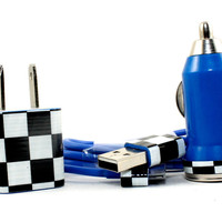 Checkered iPhone accessories - Also compatible with ipods and ipads