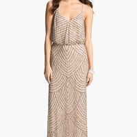 Petite Women's Adrianna Papell Sequin Gown,