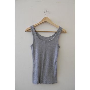 Three Dot Ribbed Tank