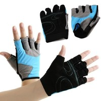 COOLOMG Women's Sport Workout Fitness Weight Lifting Cycling Driving Anti Slip Gym Gloves