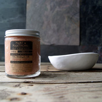 S.HS: Himalayan Salt Soap Scrub Scented and Unscented Available