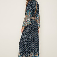 Ornate Print Maxi Dress | Forever 21 - 2000177586