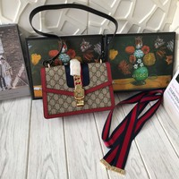 GUCCI Sylvie GG Shoulder bag