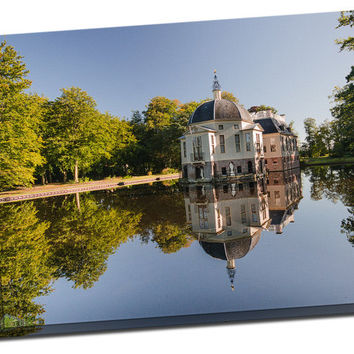 Castle-Trompenburg on Mirror Wrapped Canvas