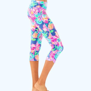 "UPF 50+ LUXLETIC 21"" WEEKENDER CROPPED LEGGING"